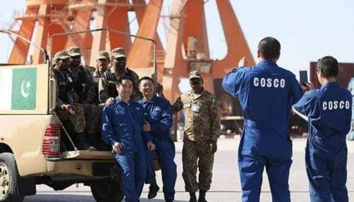 China building military base in Gwadar, fencing around Gwadar sparks discontent in Balochistan